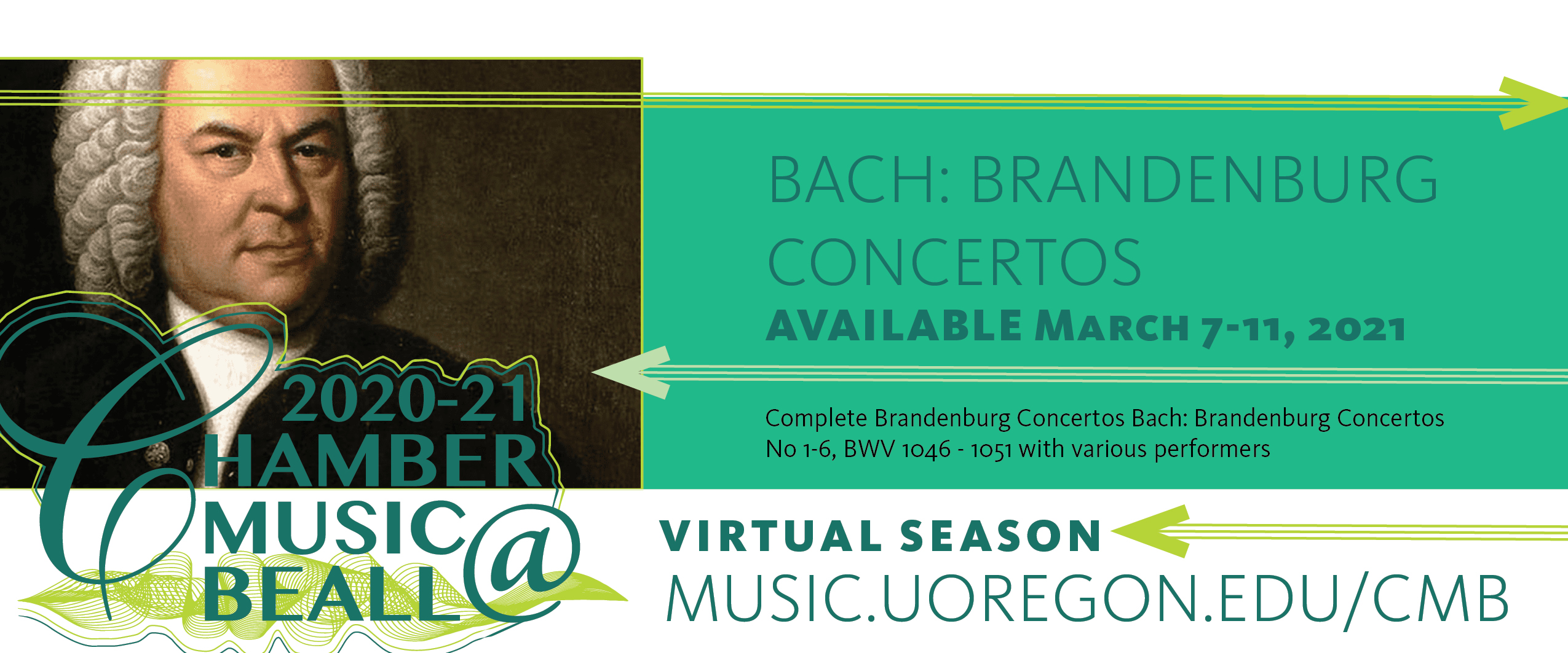 Bach: Brandenburg Concertos AVAILABLE March 7-11, 2021  Complete Brandenburg Concertos Bach: Brandenburg Concertos No 1-6, BWV 1046 - 1051 with various performers