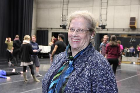 Barbara Sellers-Young in the Dougherty Dance Theatre