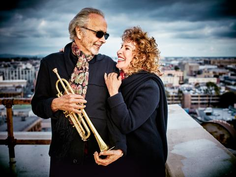 Herb Alpert and Lani Hall (photo credit: Dewey Nicks)