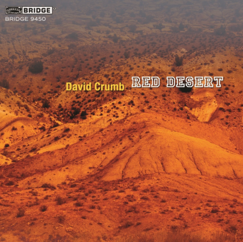 """Cover of the album """"Red Desert"""" by David Crumb"""