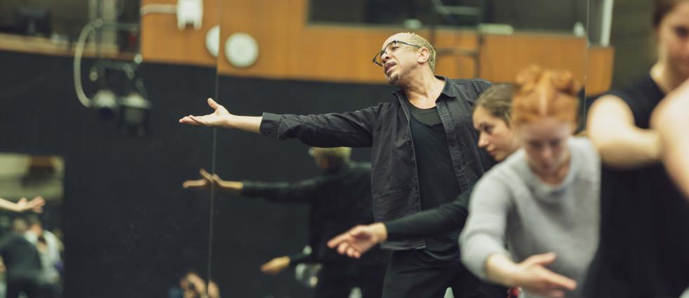 World-renowned choreographer Dwight Rhoden gives masterclass at UO Dance Dept (City of Eugene Cultural Services/Ben Schorzman)