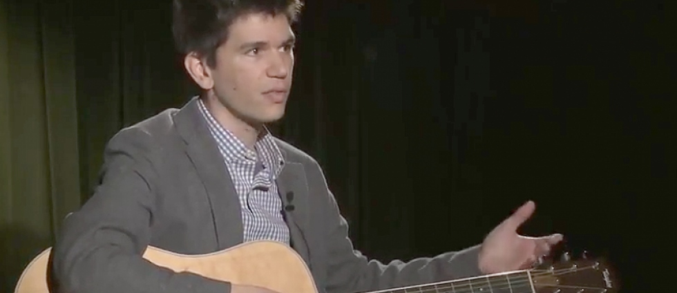 Assistant professor of music theory Drew Nobile discusses his research on UO Today.