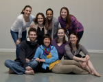 Members of the TRANSForm Dance Collective